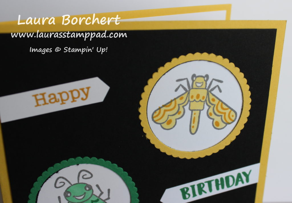 Scallop Circle Frames, www.LaurasStampPad.com