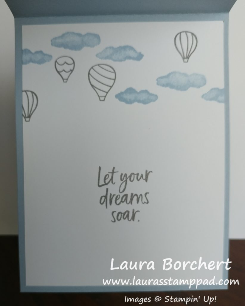 Let Your Dreams Sore, www.LaurasStampPad.com