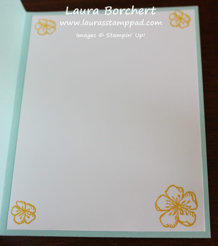 Simple Stamped Flowers, www.LaurasStampPad.com
