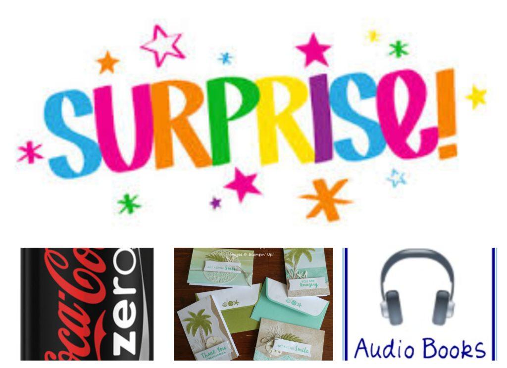 SURPRISE, www.LaurasStampPad.com