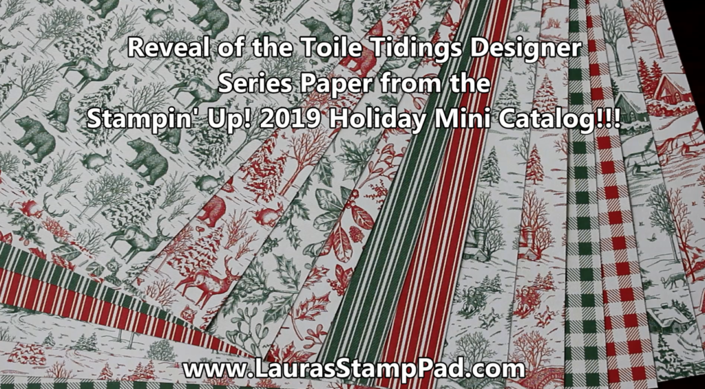 It's that time of year, www.LaurasStampPad.com