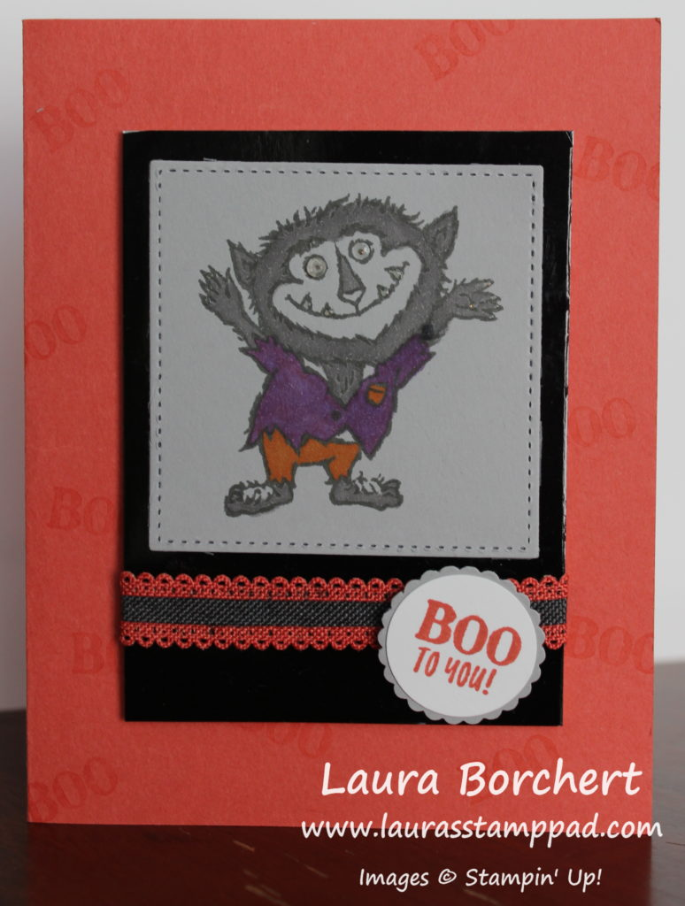 Boo To You, www.LaurasStampPad.com