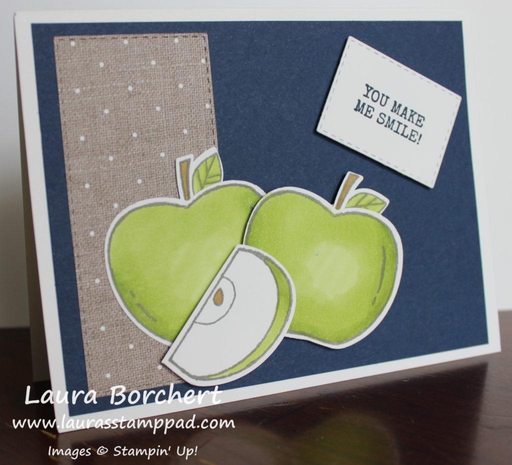 coloring apples, www.LaurasStampPad.com