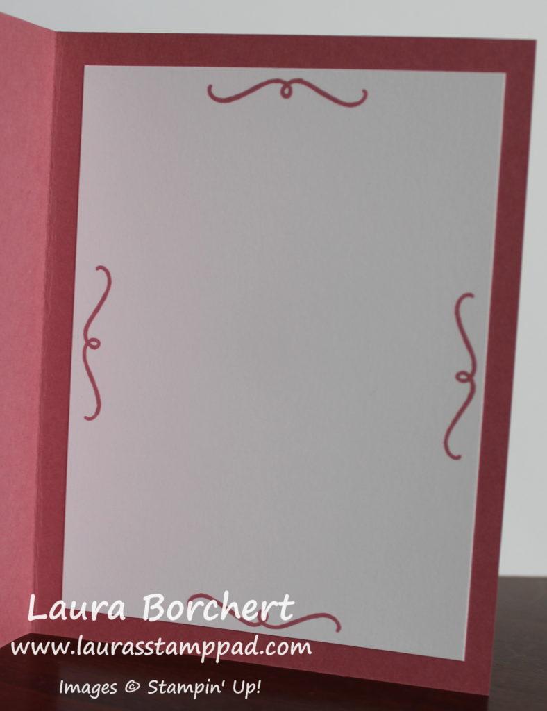 Card Insert, www.LaurasStampPad.com