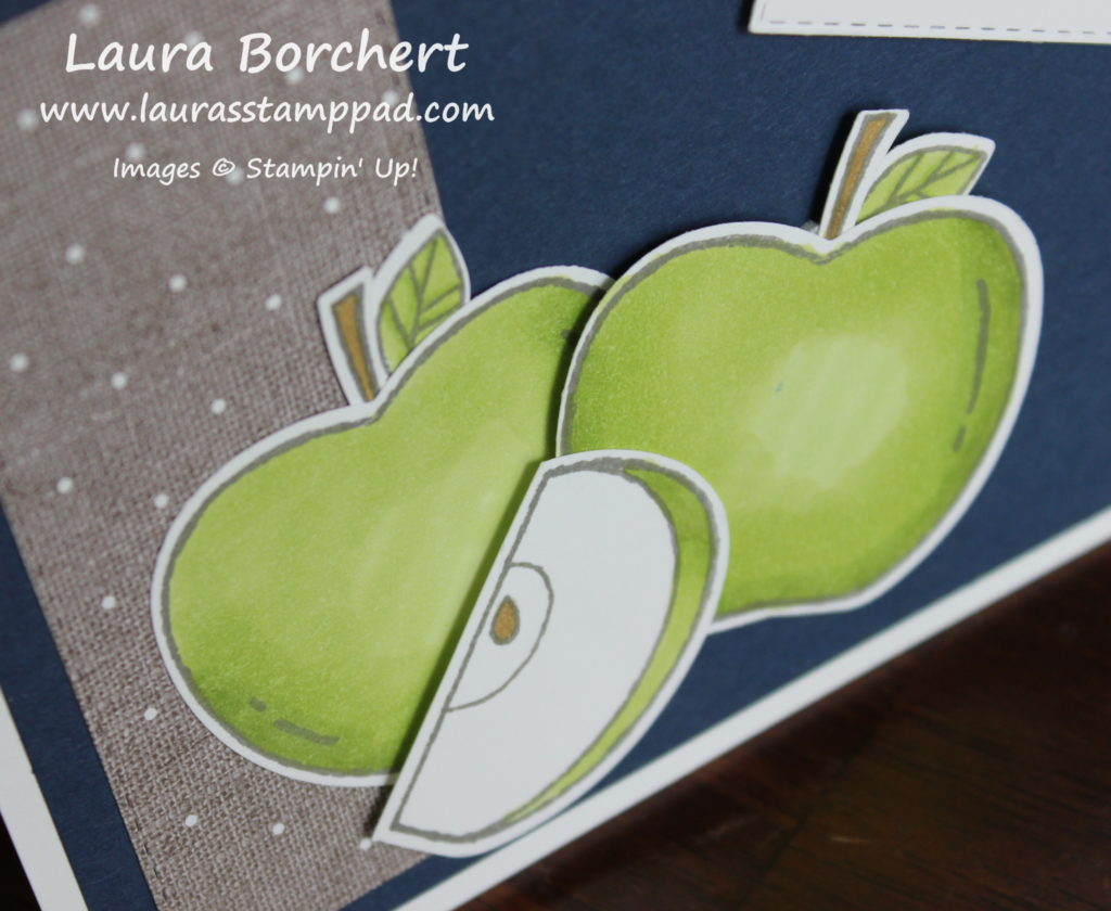 Granny Smith Apples, www.LaurasStampPad.com