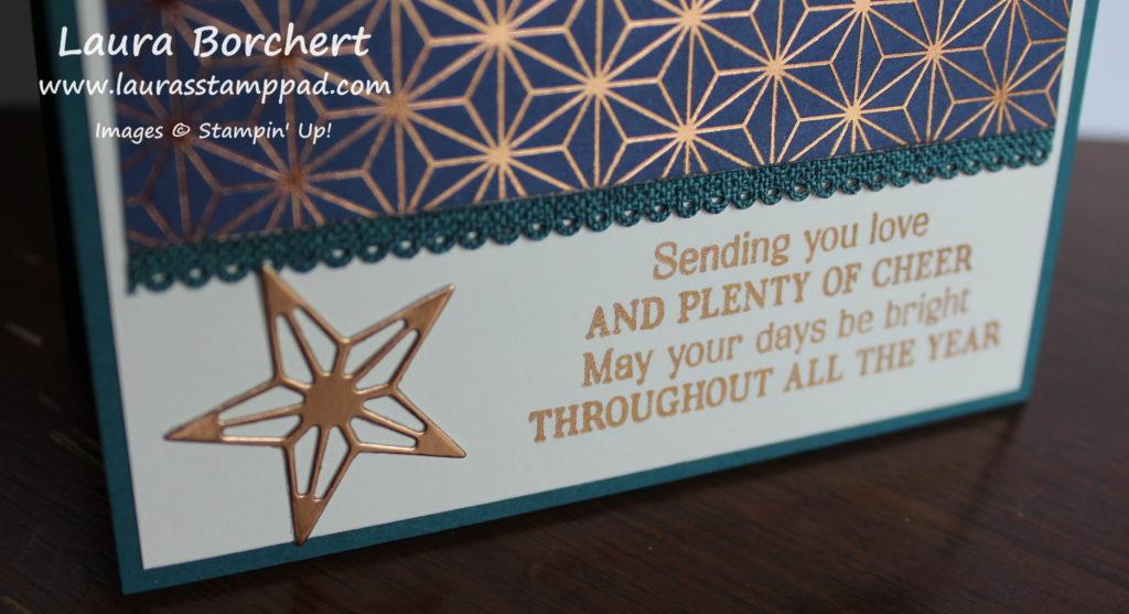 Brightly Gleaming Designer Paper, www.LaurasStampPad.com