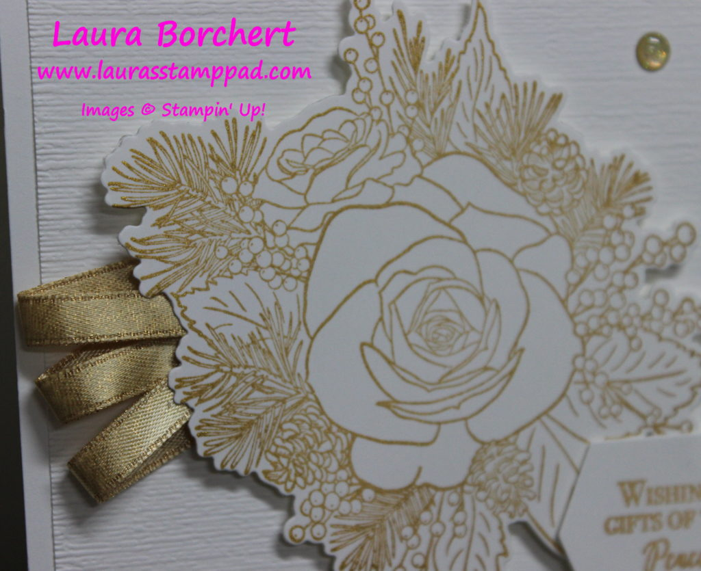 Golden Rose, www.LaurasStampPad.com
