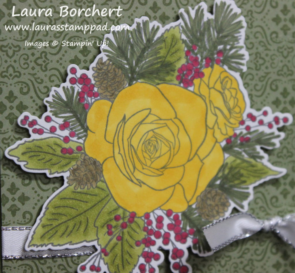 Coloring Roses, www.LaurasStampPad.com