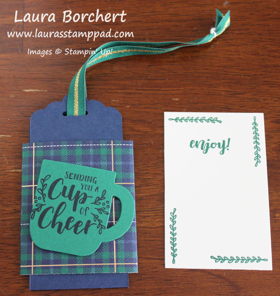 Cup of Cheer, www.LaurasStampPad.com
