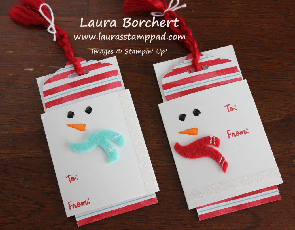 simple & snowy, www.LaurasStampPad.com