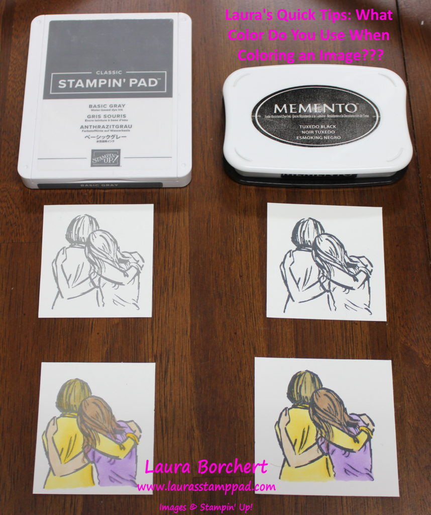 What Do You Stamp With, www.LaurasStampPad.com