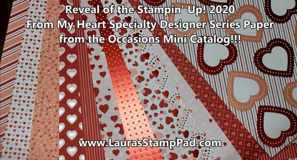 From My Heart, www.LaurasStampPad.com