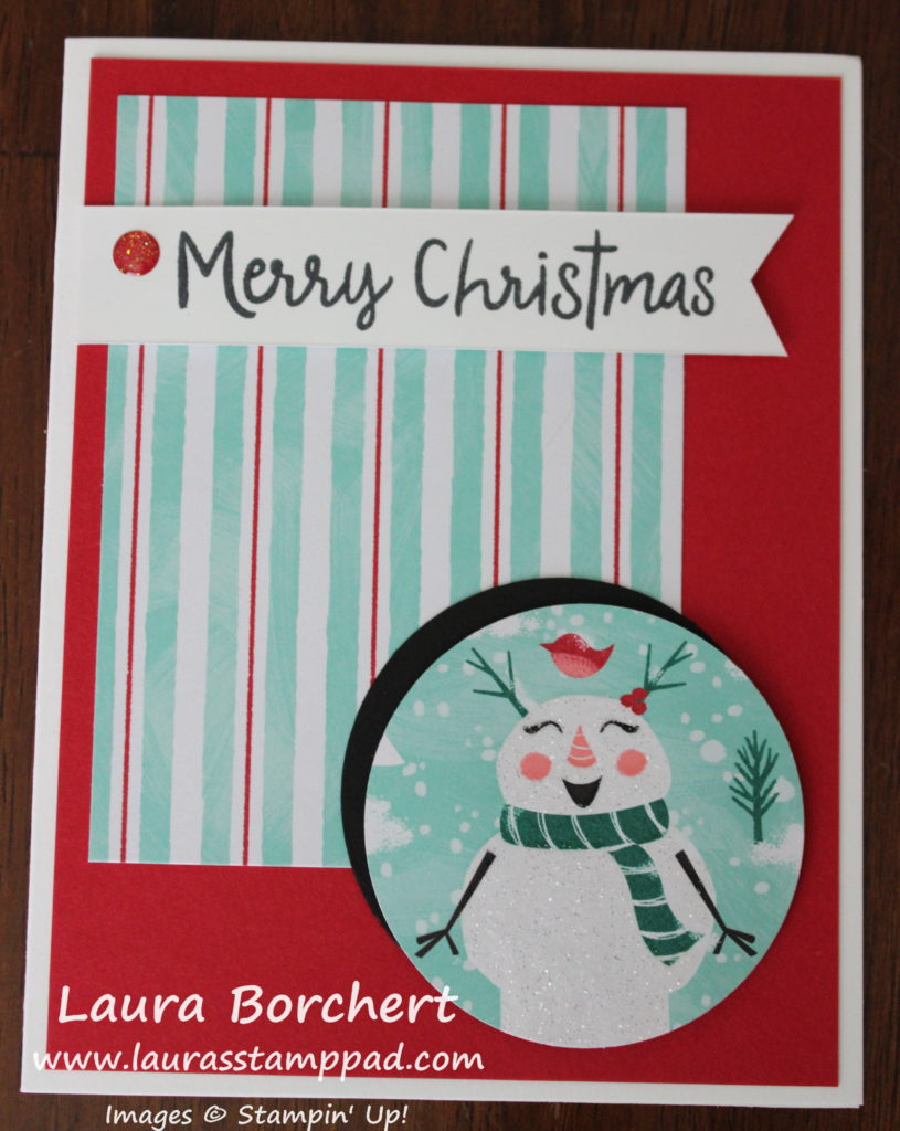 Silly Snowman, www.LaurasStampPad.com