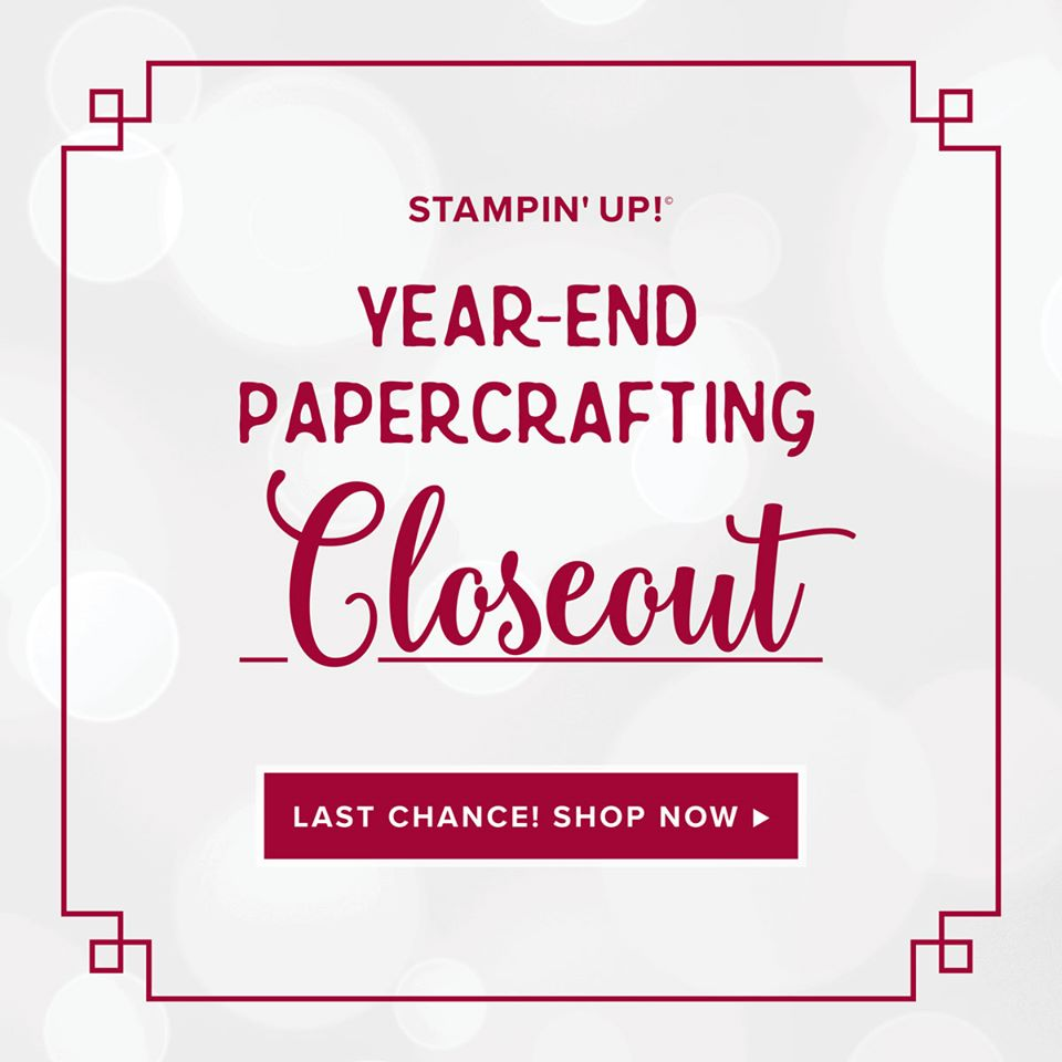 Year End Closeout, www.LaurasStampPad.com