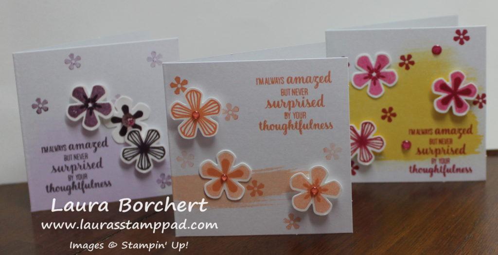 Dainty Note Cards, www.LaurasStampPad.com