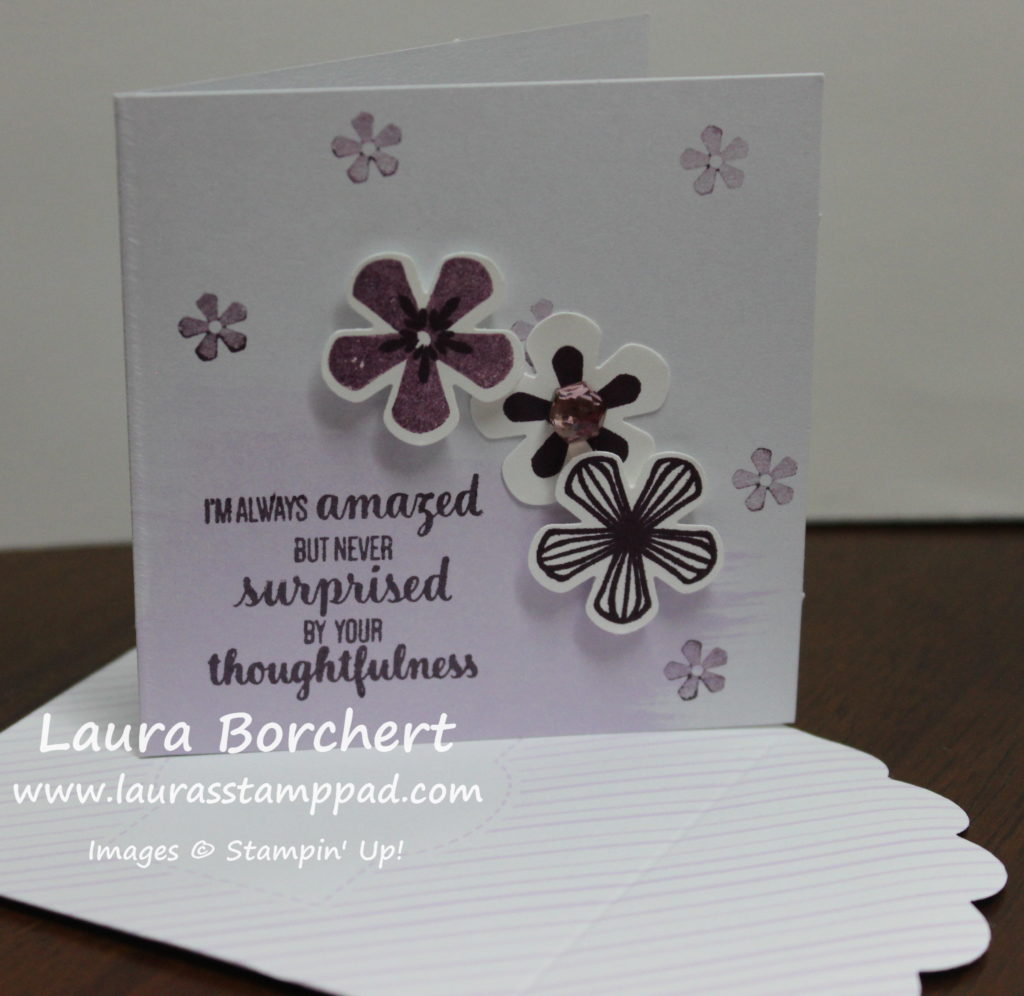 Thoughtful Blooms Sale-A-Bration Stamp Set, www.LaurasStampPad.com