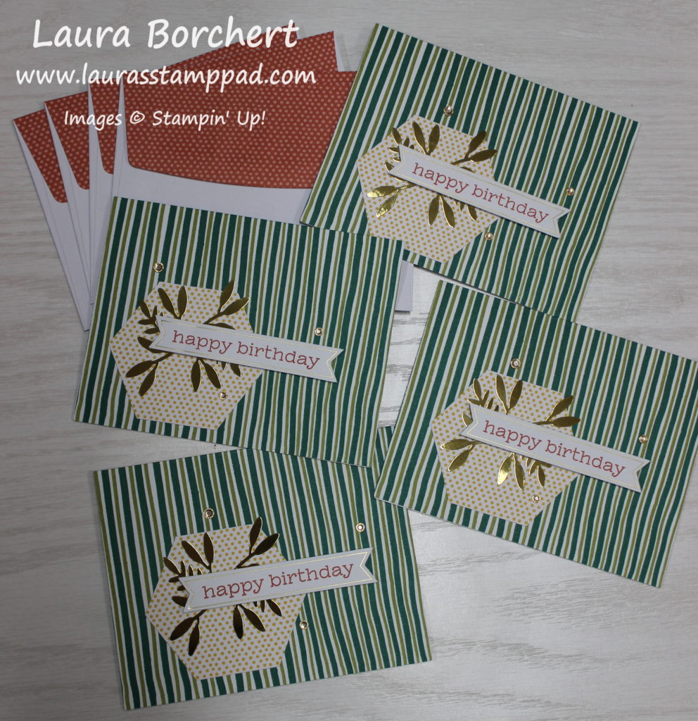 Birthday Cards For All Year, www.LaurasStampPad.com