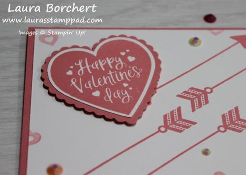 Happy Valentine's Day, www.LaurasStampPad.com