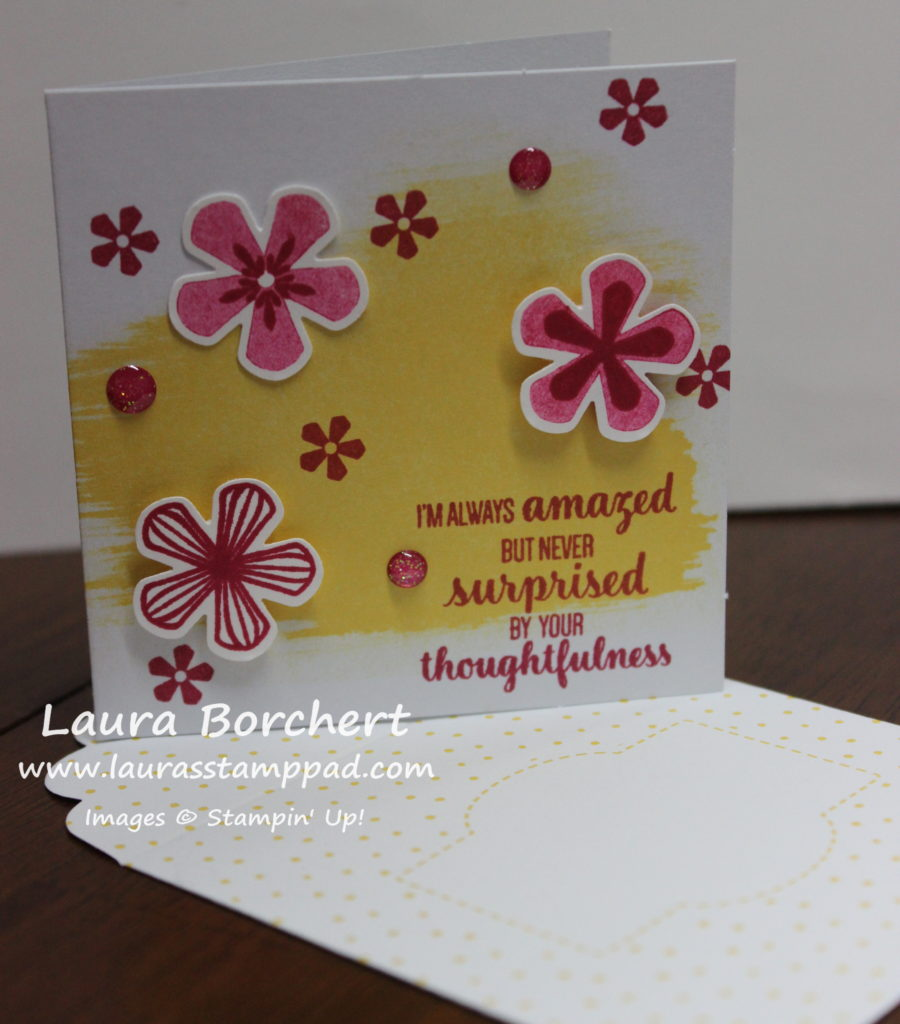 Best Dressed Note Cards & Envelopes, www.LaurasStampPad.com