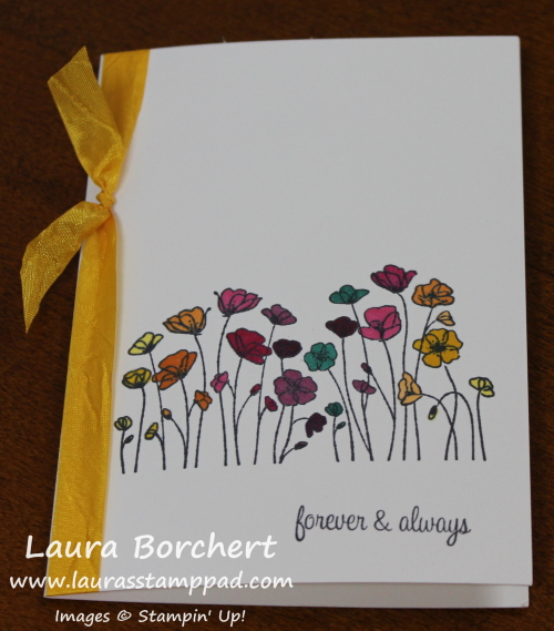Painted Poppies, www.LaurasStampPad.com