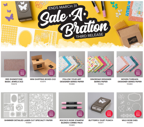 Final Sale-A-Bration, www.LaurasStampPad.com