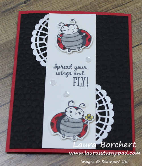 Little Ladybugs, www.LaurasStampPad.com