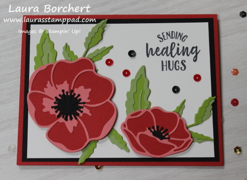 It's a Poppy Moment, www.LaurasStampPad.com
