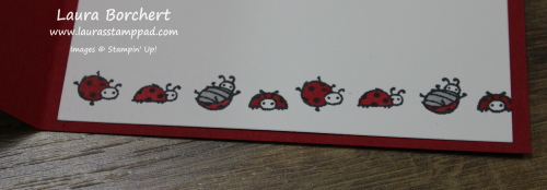 Cute Ladybugs, www.LaurasStampPad.com