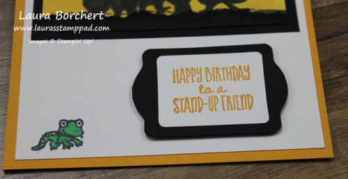 Happy Birthday To A Stand-Up Friend, www.LaurasStampPad.com