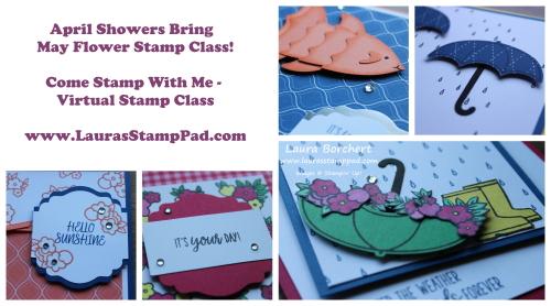 Virtual Stamp Class, www.LaurasStampPad.com
