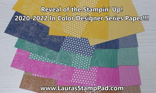 2020-2022 In Colors, www.LaurasStampPad.com