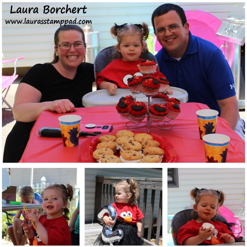 Claire Turned 2, www.LaurasStampPad.com