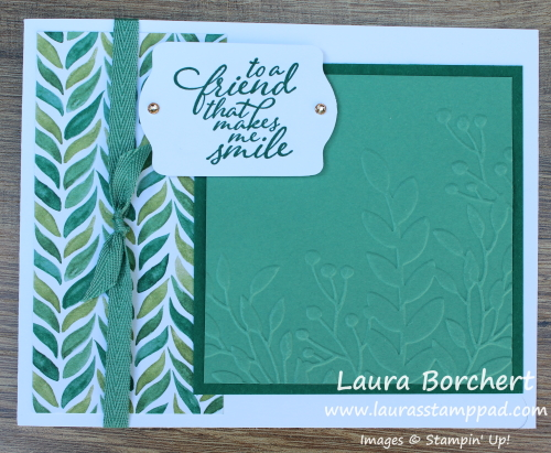 You Make Me Smile, www.LaurasStampPad.com