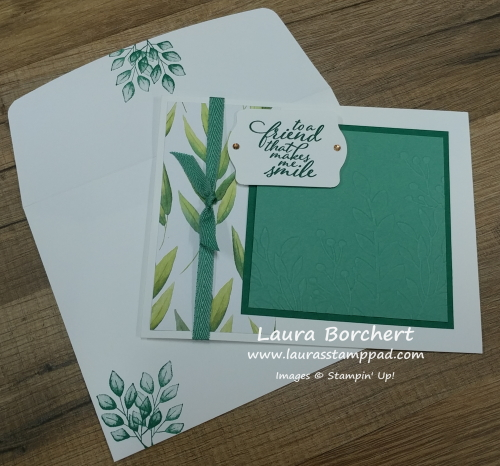 Forever Greenery, www.LaurasStampPad.com