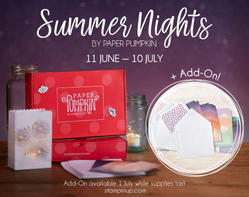 Summer Nights, www.LaurasStampPad.com