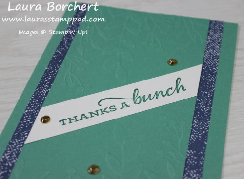 Stampin' Up! Embossing Folders, www.LaurasStampPad.com