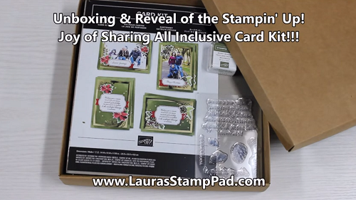 Joy of Sharing Card Kit, www.LaurasStampPad.com