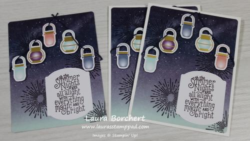 Chinese Lanterns, www.LaurasStampPad.com