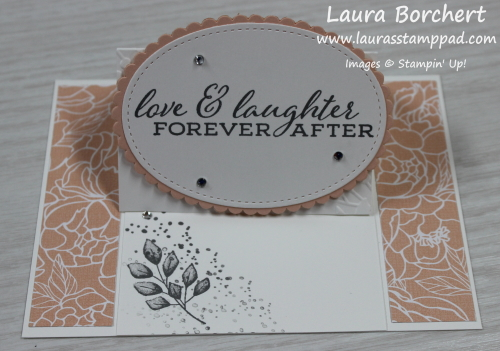 Creating An Easel Card, www.LaurasStampPad.com