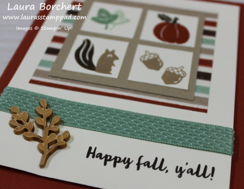 Wooden Elements for Fall, www.LaurasStampPad.com