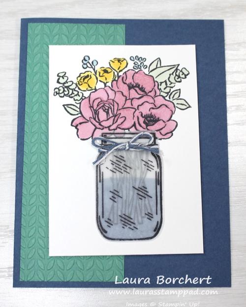 Summer Flowers, www.LaurasStampPad.com