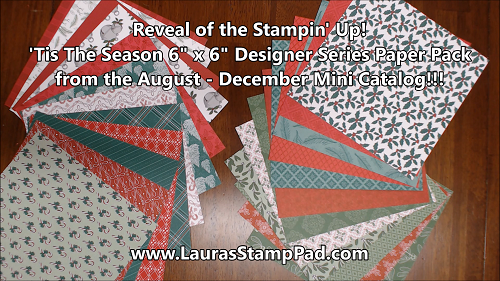 'Tis the Season, www.LaurasStampPad.com
