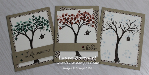 A Card for Every Season, www.LaurasStampPad.com