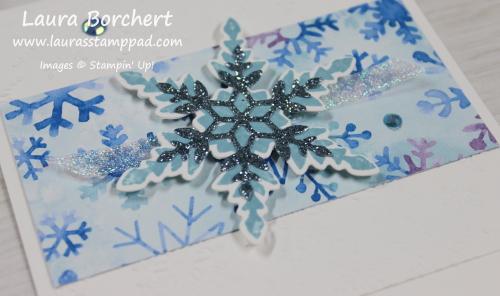 Snowflake Splendor Designer Series Paper, www.LaurasStampPad.com