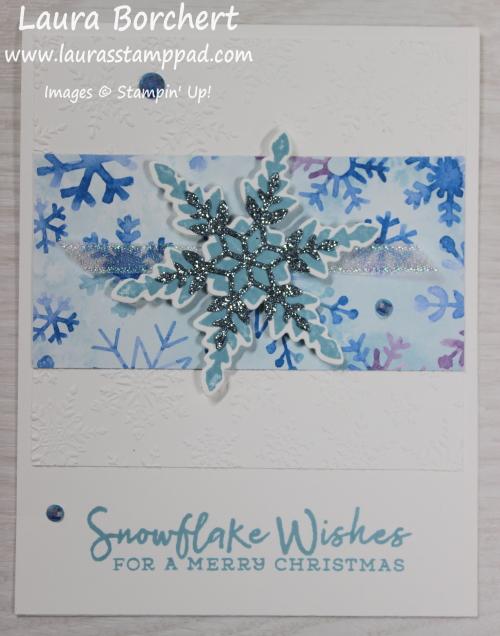 Layered Snowflake, www.LaurasStampPad.com
