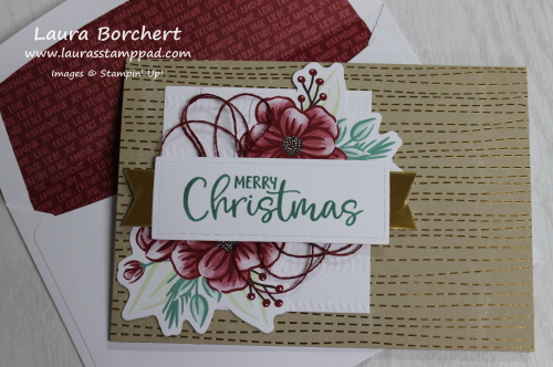Craft Kit for Christmas Cards, www.LaurasStampPad.com