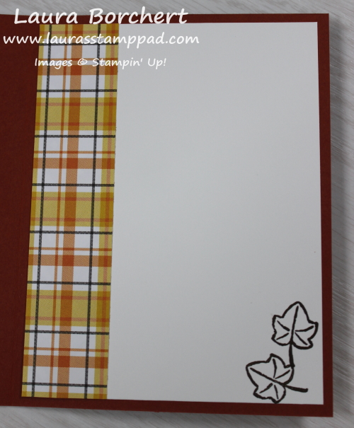 Fall Greeting Card, www.LaurasStampPad.com