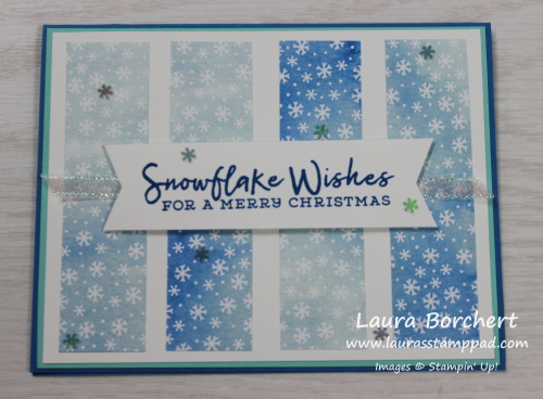 Snowflake Wishes, www.LaurasStampPad.com