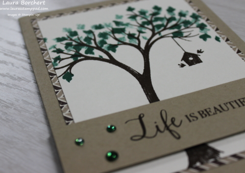 Spring Tree using the Life is Beautiful Stamp Set, www.LaurasStampPad.com