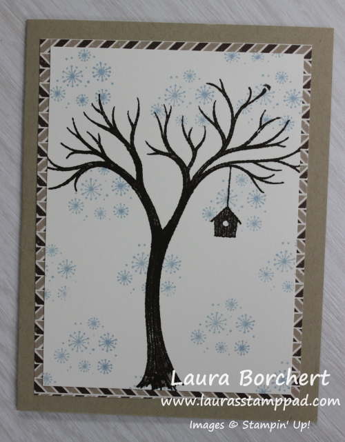 Winter Tree using the Life is Beautiful Stamp Set, www.LaurasStampPad.com